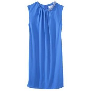 NWT 3.1 PHILLIP LIM Draped Dress with Beaded Neck